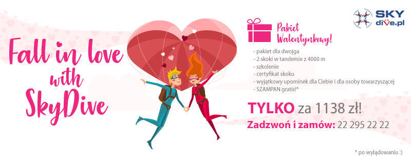 Fall in love with SkyDivePL